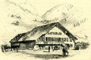 THE PENSION-CHALET, ROUGEMONT, Switzerland