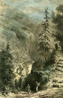 Pfeffers, Switzerland, 19th century