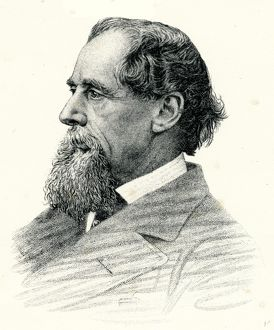 Portrait of Charles Dickens, 1870