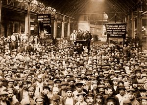 Putilov Plant, Petrograd, Saint Petersburg, meeting of workers, July 1920, History