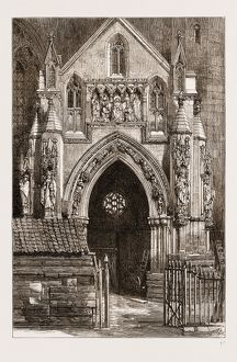 THE RESTORATION OF BRISTOL CATHEDRAL, UK, 1876: THE NORTH PORCH AND THE PROHIBITED