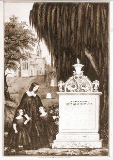 Sacred to the memory of; [no date recorded on shelflist card]; 1 print