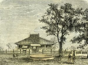 Three kilometers from Saigon, Vietnam, 19th century, the Chinese town