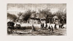 THE SHAKERS' PRESENT ENCAMPMENT IN THE NEW FOREST, 1875