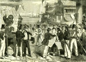 Shanghai, China, 1865, Proclamation of French and English chefs
