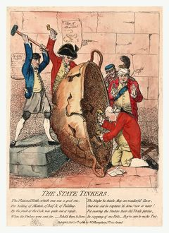 The state tinkers, Gillray, James, 1756-1815, engraver, Published Feb'y 10th