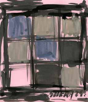 Susan Szikra, abstract expressionism in squares, Poetic mind, a journey through colors