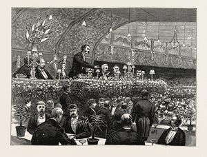 THE UNIONIST BANQUET AT THE WAVERLEY MARKET, EDINBURGH, IN HONOUR OF MR. A. J. BALFOUR, M