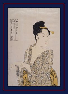Uwaki no sA'AAŽ = [The fancy-free type], Kitagawa, Utamaro (1753?-1806), (Artist)