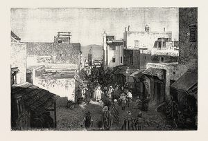 VIEWS IN TANGIER, MOROCCO 1889