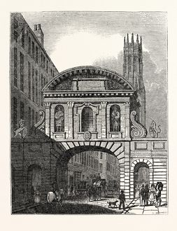 West Front of Temple Bar, London