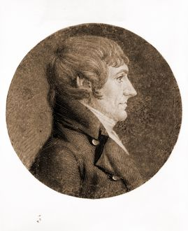 [William Plumer, head-and-shoulders portrait, right profile]; Saint-Memin, Charles