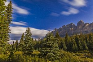 The Big Dipper over Castle Mountain, Banff National Park, Canada