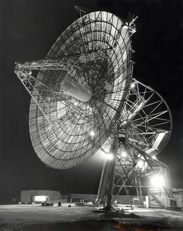 A large antenna operated at Deep Space Station 41 in Australia