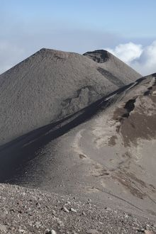 Southeast crater of Mount Etna volcano, Sicily, Italy