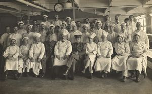 medical/staff cooks king george military hospital london