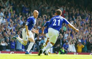 Andy Johnson and Leon Osman