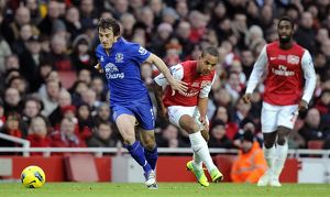 <b>10 December 2011, Arsenal v Everton</b><br>Selection of 17 items