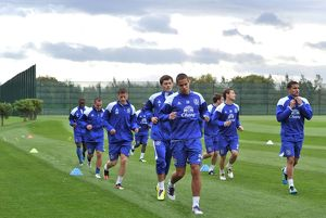 Barclays Premier League - Everton Training Session - Finch Farm