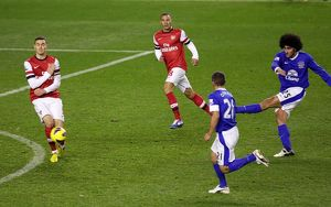 <b>Barclays Premier League : Everton 1 v Arsenal 1 : Goodison Park : 28-11-2012</b><br>Selection of 24 items