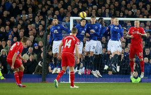 <b>Everton v Liverpool - Goodison Park</b><br>Selection of 13 items