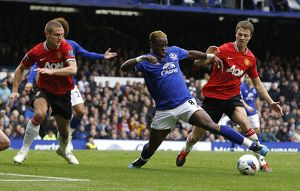 <b>29 October 2011, Everton v Manchester United</b><br>Selection of 47 items