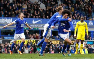 <b>Barclays Premier League : Everton 3 v Reading 1 : Goodison Park : 02-03-2013</b><br>Selection of 28 items