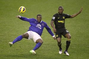 <b>Barclays Premier League : Everton 2 v Wigan Athletic 1 : Goodison Park : 26-12-2012</b><br>Selection of 32 items