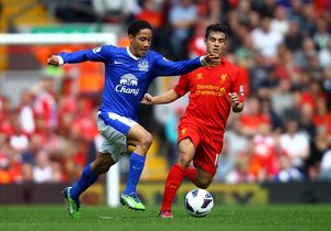 <b>Barclays Premier League : Liverpool 0 v Everton 0 : Anfield : 05-05-2013</b><br>Selection of 24 items