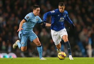 Barclays Premier League - Manchester City v Everton - Etihad Stadium