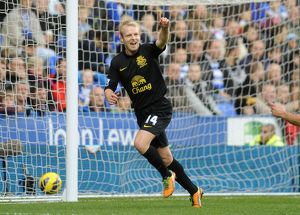 <b>Barclays Premier League : Reading 2 v Everton 1 : Madjeski Stadium : 17-11-2012</b><br>Selection of 16 items