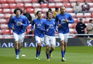 <b>Barclays Premier League : Sunderland 1 v Everton 0 : Stadium of Light : 20-04-2013</b><br>Selection of 19 items