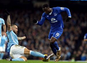 Capital One Cup - Manchester City v Everton - Semi Final - Second Leg - Etihad Stadium