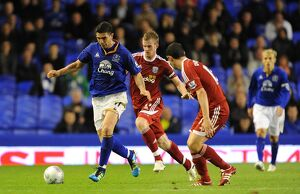Carling Cup - Third Round - Everton v West Bromwich Albion - Goodison Park