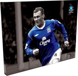 Duncan Ferguson Duo Tone Wrap Canvas