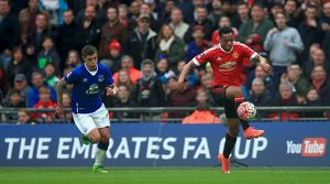 Emirates FA Cup - Semi-Final - Everton v Manchester United - Wembley Stadium