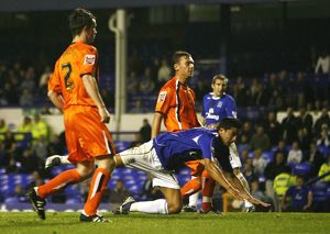 Everton v Luton Town - Goodison Park - 24/10/06 Everton's Tim Cahill scores the