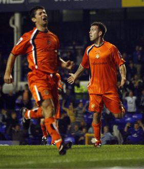 Everton v Luton Town - Goodison Park - 24/10/06 Luton Towns Keith Keane dejected