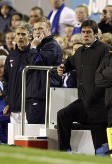 Everton v Luton Town - Goodison Park - 24/10/06 Luton Town's manager Mike Newell