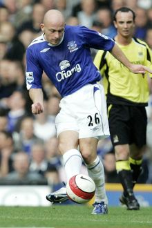 Everton v Manchester City Everton's Lee Carsley