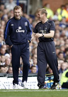 Everton v Manchester City FA Barclays Premiership -Everton manager David Moyes