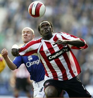 Everton v Sheffield United - 21/10/06 Claude Davis - Sheffield United and Andrew