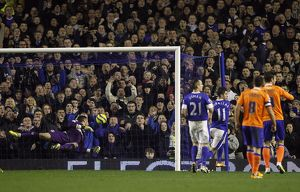 FA Cup - Fifth Round Replay - Everton v Oldham Athletic - Goodison Park