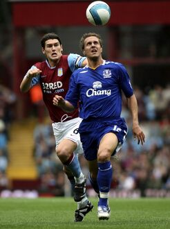 Football - Aston Villa v Everton Barclays Premier League - Villa Park - 23/9/07 Everton's