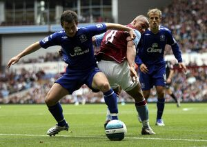 Football - Aston Villa v Everton Barclays Premier League - Villa Park - 23/9/07 Aston