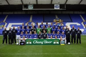 Football - Everton Photocall - Goodison Park - 07/08 - 28/9/07 Everton first team