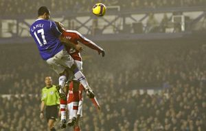 Football - Everton v Arsenal Barclays Premier League