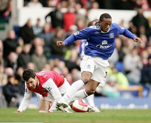Football - Everton v Arsenal FA Barclays Premiership - Goodison Park - 18/3/07