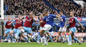 Football - Everton v Aston Villa FA Cup Fifth Round