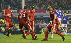 Football - Everton v Liverpool FA Cup Fourth Round